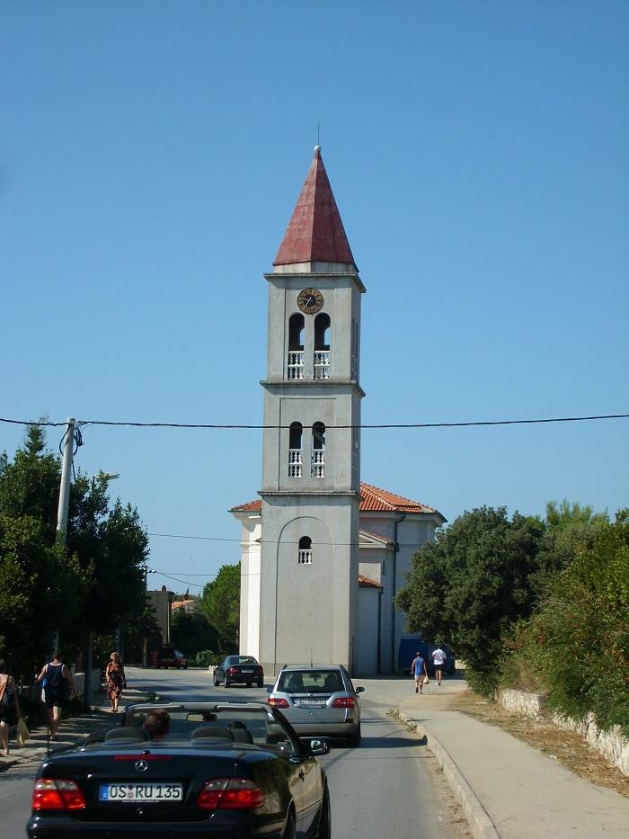 Отдых в Хорватии, где-то по дороге в Нин