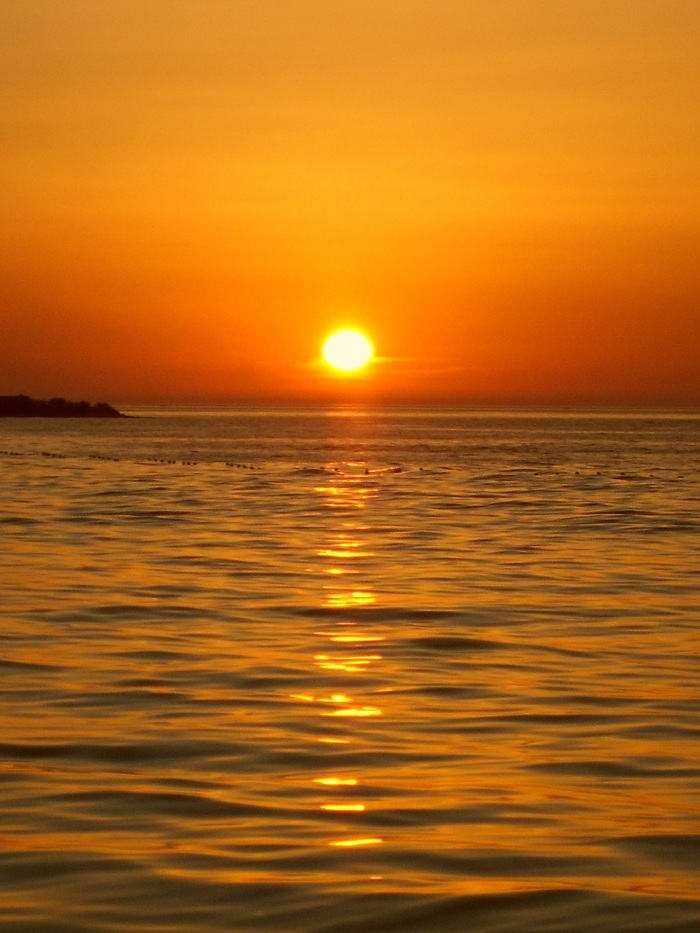 Отдых в Хорватии, закат