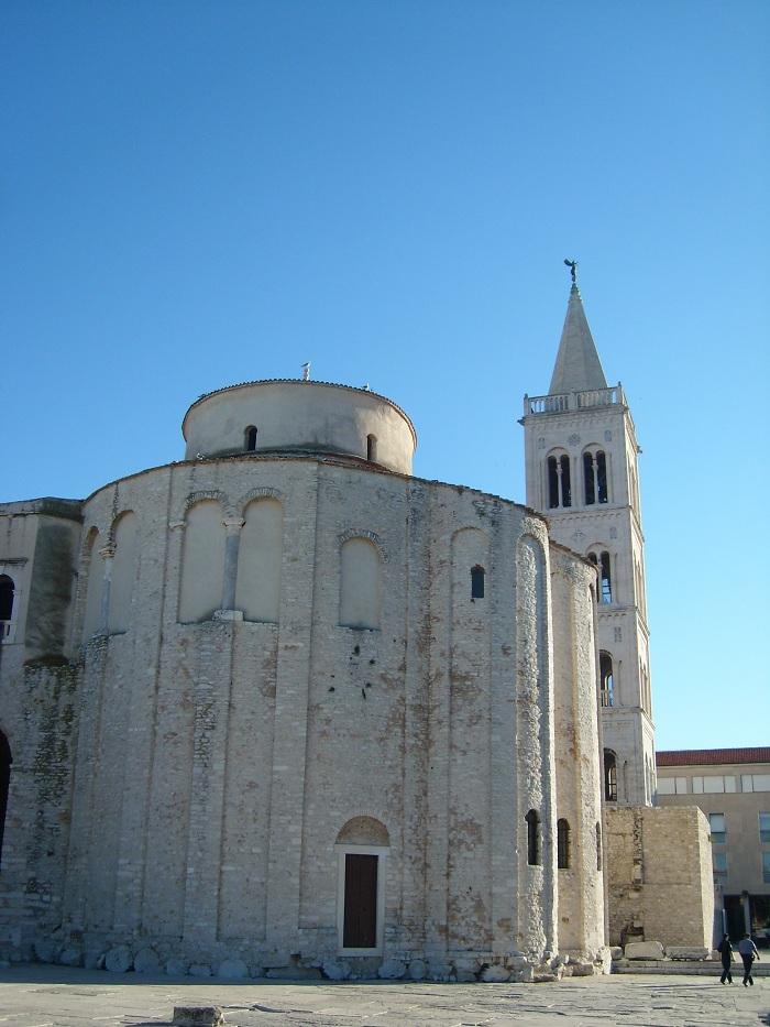Отдых в Хорватии, трехапсидная церковь