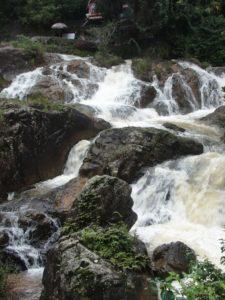Экскурсия в Далат - на водопаде