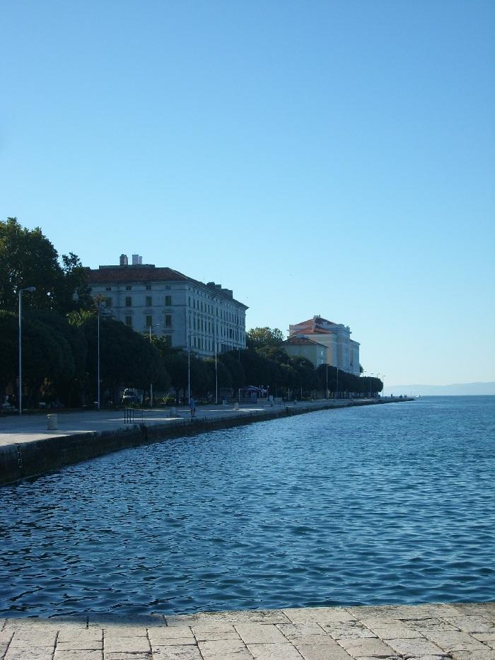 Отдых в Хорватии, набережная