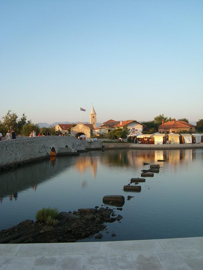 Отдых в Хорватии, город Нин