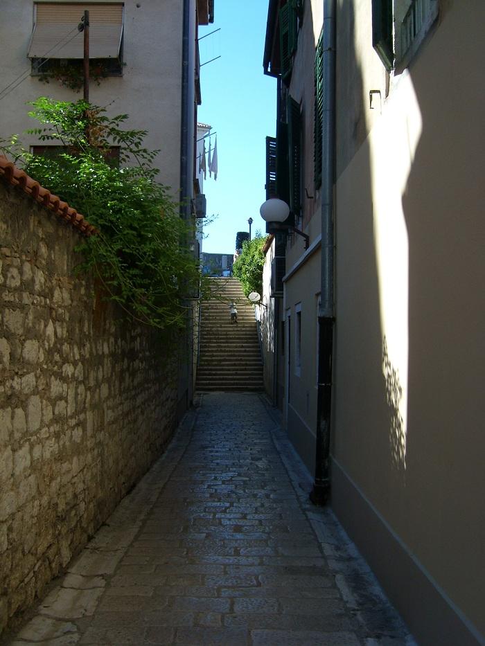 Отдых в Хорватии, улочки