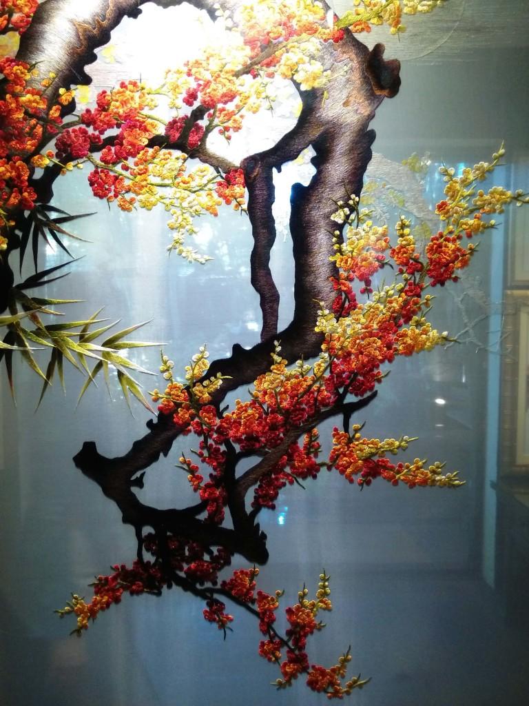 10 фактов о вьетнаме - шелковые картины