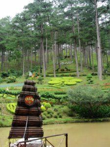Экскурсия в Далат - Парк Пренн
